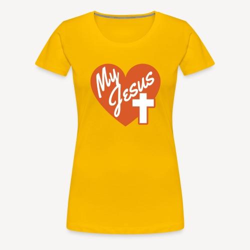 MY JESUS - Women's Premium T-Shirt