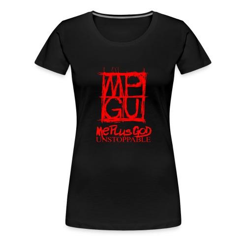 MPGU SKETCHER RED II - Women's Premium T-Shirt