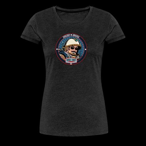 Spaceboy - Space Cadet Badge - Women's Premium T-Shirt