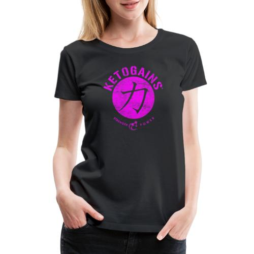 Strength&Power Fuchsia - Women's Premium T-Shirt