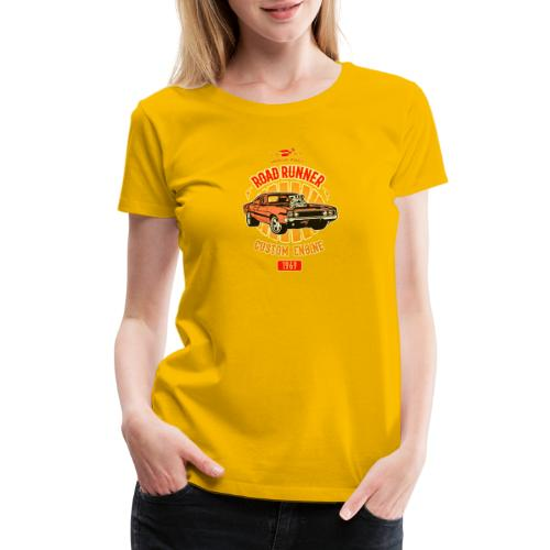 Plymouth Road Runner - American Muscle - Women's Premium T-Shirt