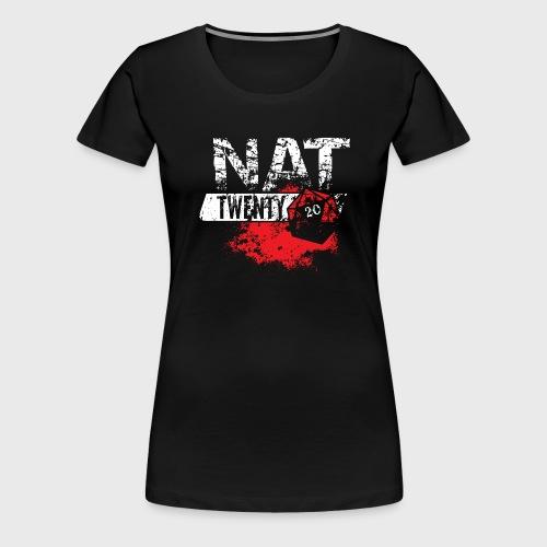 NAT 20 RPG Tee - Women's Premium T-Shirt