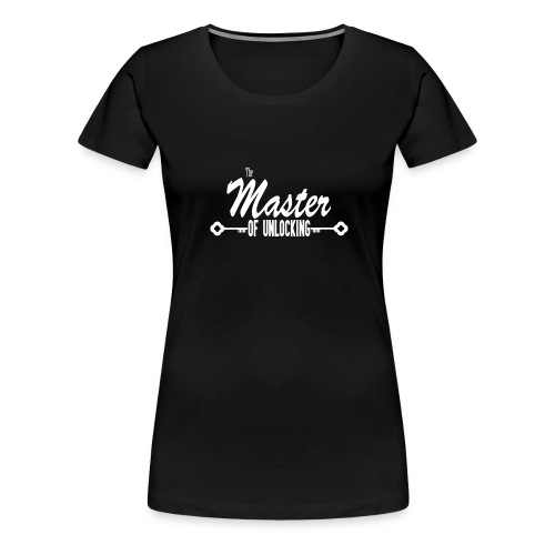 The Master of Unlocking (Alt) - Women's Premium T-Shirt