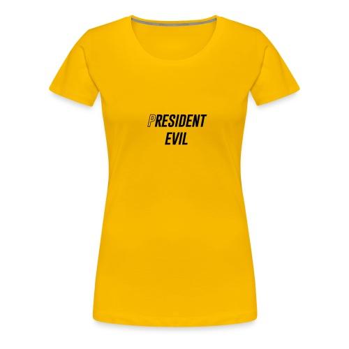 President Evil - Women's Premium T-Shirt