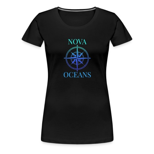 logo_nova_oceans - Women's Premium T-Shirt