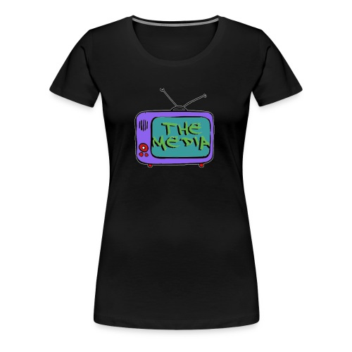 Themedia Logo - Women's Premium T-Shirt