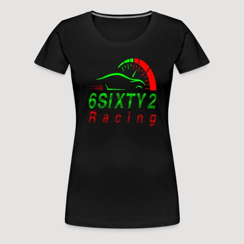 6sixty2 Racing3 MAIN PNG - Women's Premium T-Shirt