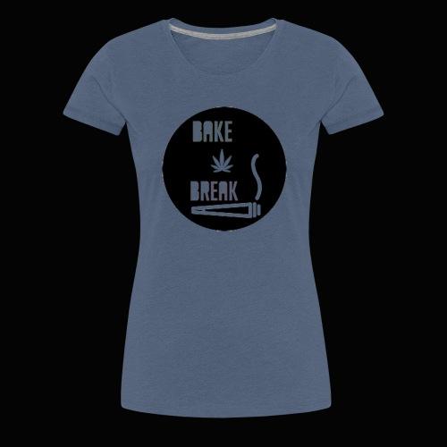 Bake Break Logo Cutout - Women's Premium T-Shirt