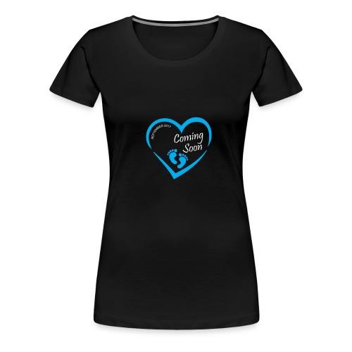 Baby coming soon - Women's Premium T-Shirt