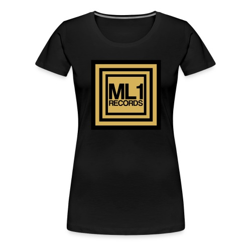 ML1 Records Logo - Women's Premium T-Shirt