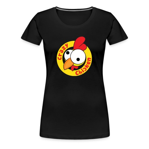 CrazyChicken Hoodie - Women's Premium T-Shirt