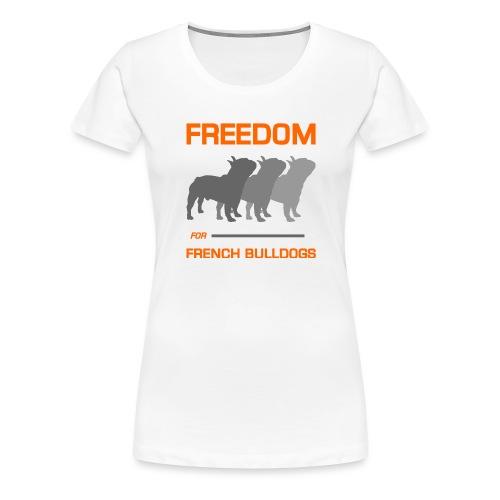 French Bulldogs - Women's Premium T-Shirt