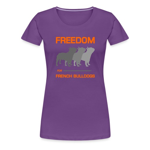 French Bulldogs - Women's Premium T-Shirt