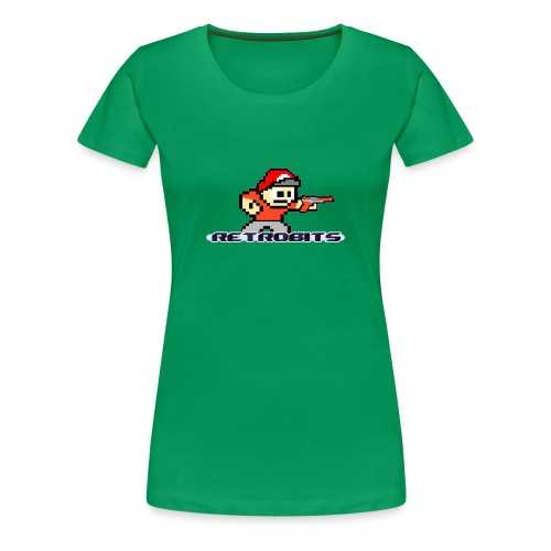 RetroBits Clothing - Women's Premium T-Shirt