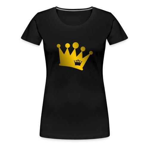 Double Crown gold - Women's Premium T-Shirt