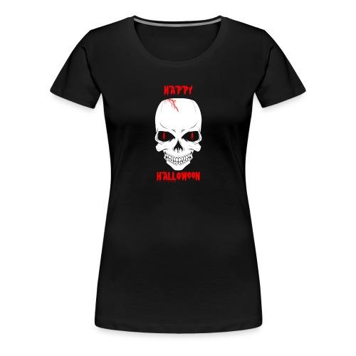 Halloween Skull - Women's Premium T-Shirt