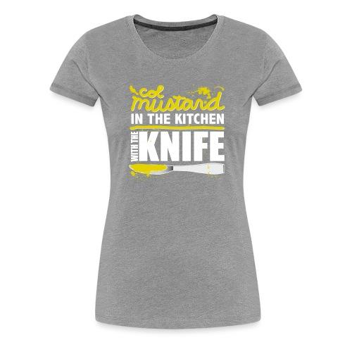 Colonel Mustard - Women's Premium T-Shirt