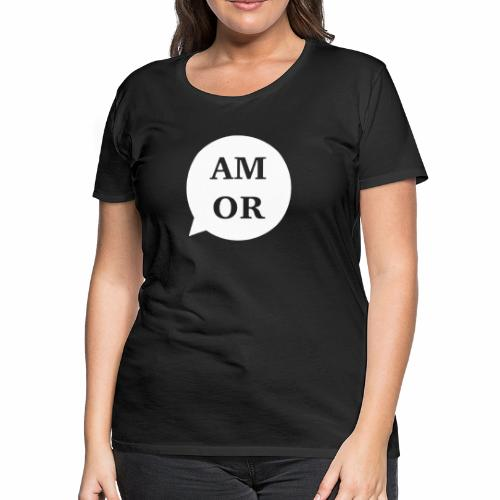 Am or funny buble - Women's Premium T-Shirt