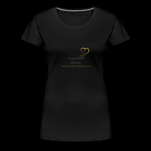 unzipyourheART - Women's Premium T-Shirt