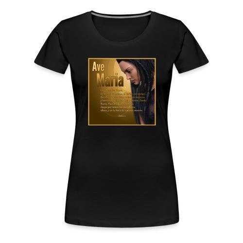 Ave María - La oración en español - Women's Premium T-Shirt