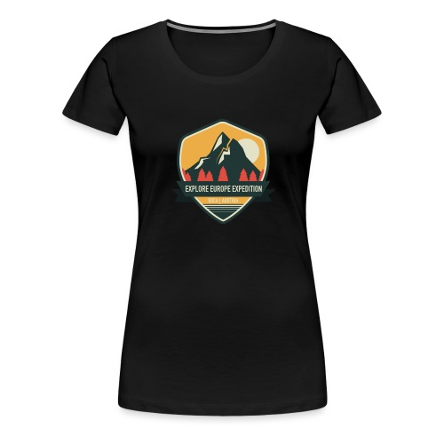 explore europe expedition - Women's Premium T-Shirt