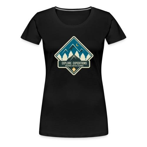Explore British Columbia - Women's Premium T-Shirt