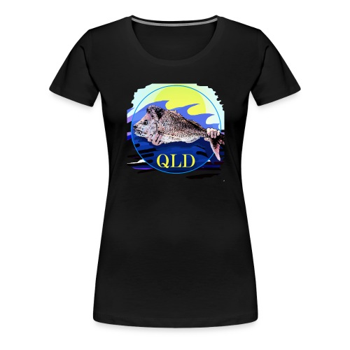 SNAPPER FISHING OFFSHORE AND INSHORE QLD - Women's Premium T-Shirt