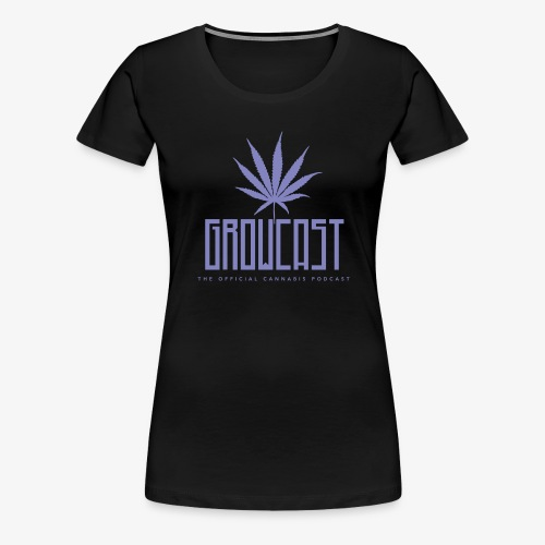 Growcast Purple Logo - Women's Premium T-Shirt