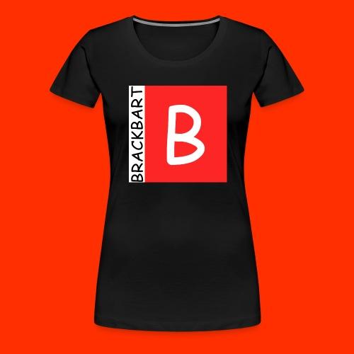 Brackbart Official Logo - Women's Premium T-Shirt