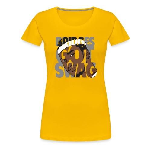 Men's Hoodie - #BridgesGotSwag - Women's Premium T-Shirt