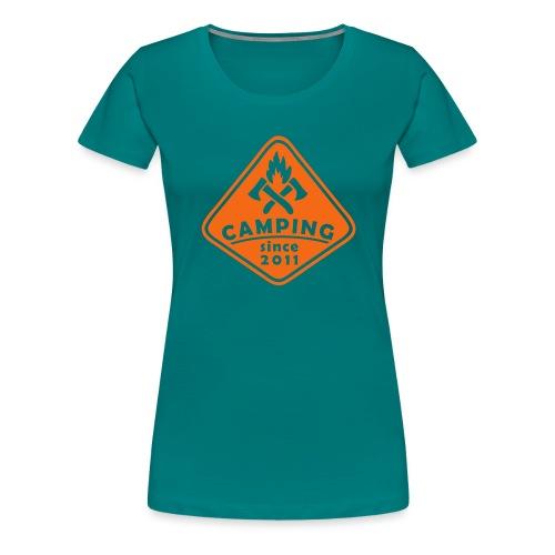 Campfire 2011 - Women's Premium T-Shirt