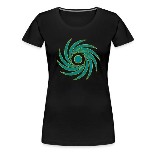 Whirl - Women's Premium T-Shirt