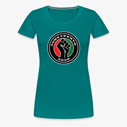 JUNETEENTH02 - Women's Premium T-Shirt