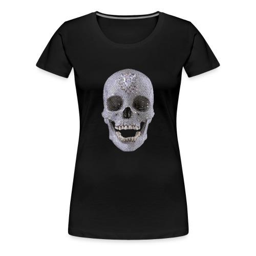 diamond_skull_1 - Women's Premium T-Shirt