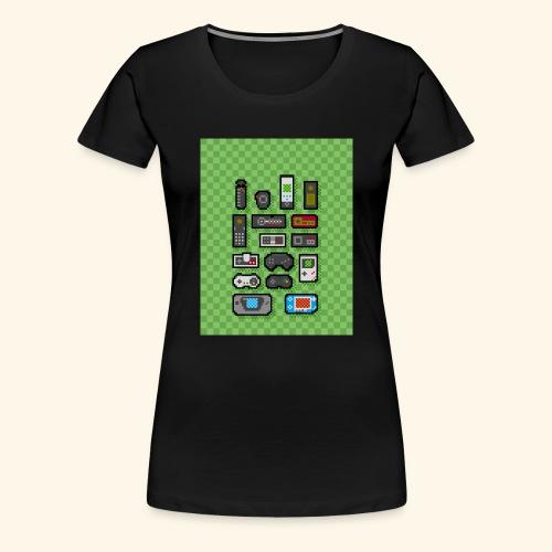 controller handy - Women's Premium T-Shirt