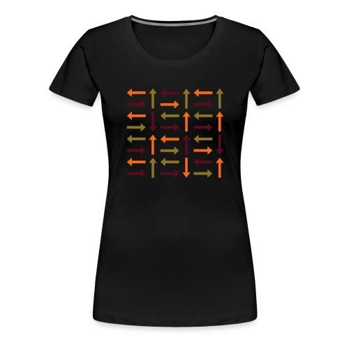 arrows - Women's Premium T-Shirt
