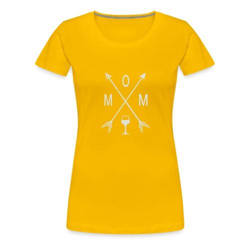 Mom Wine Time - Women's Premium T-Shirt