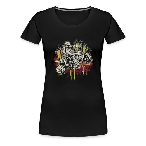 ATV Halloween Zombies - Women's Premium T-Shirt