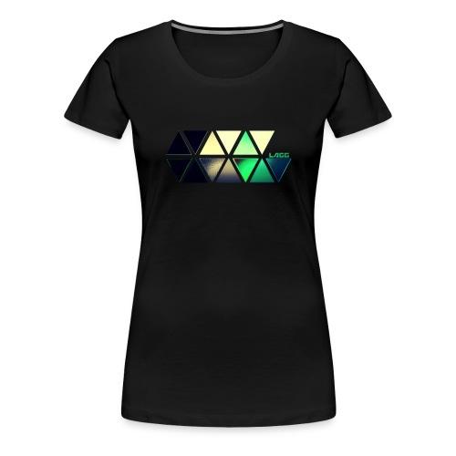 Lagg slide color - Women's Premium T-Shirt