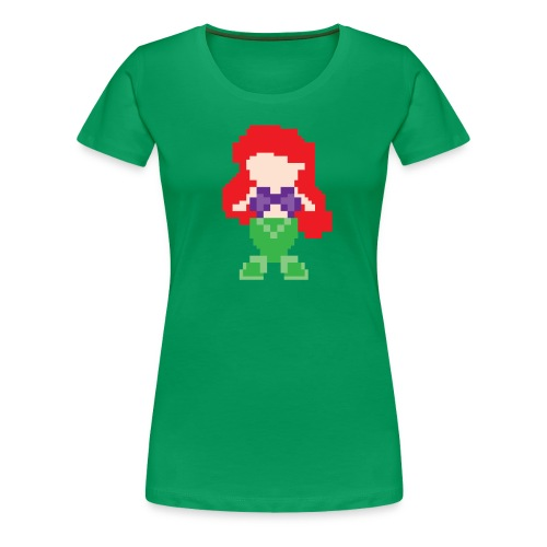 pixelmermaid - Women's Premium T-Shirt