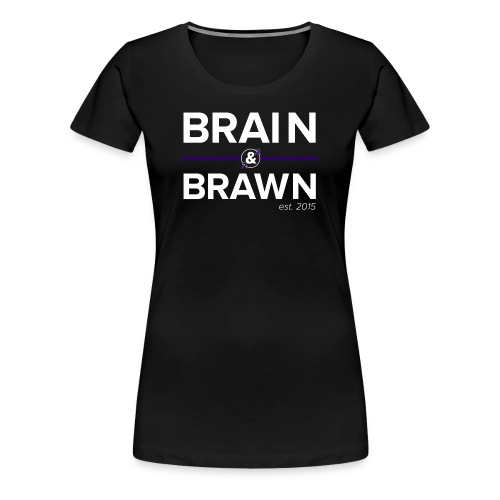t shirt print dark png - Women's Premium T-Shirt