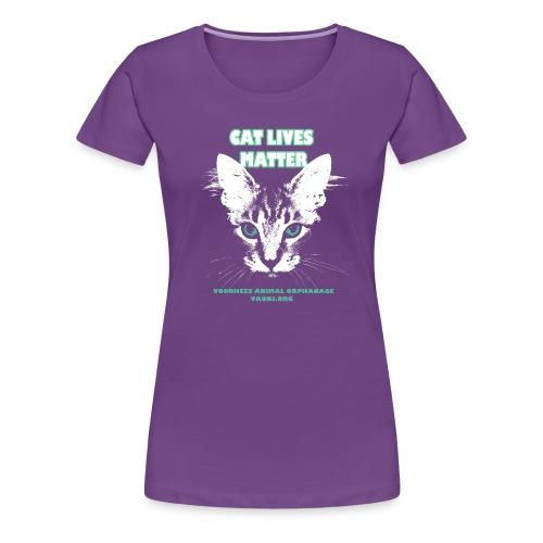 Cat Lives Matter - Women's Premium T-Shirt