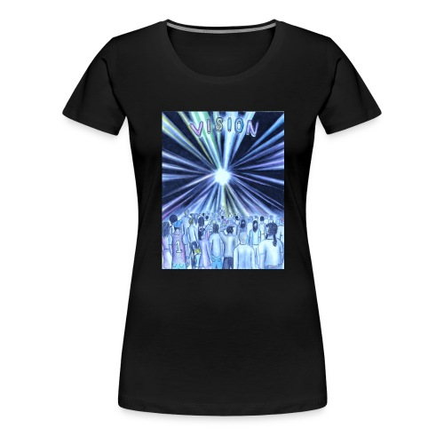 vision_color_1_Ink_LI - Women's Premium T-Shirt