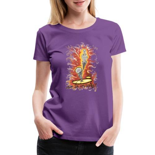 vive la résistance red - Women's Premium T-Shirt