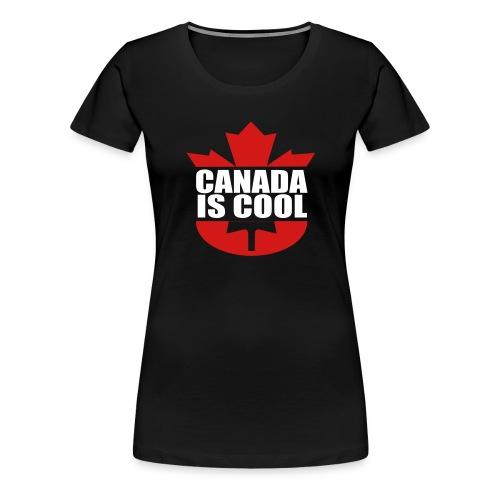 Canada is Cool - Women's Premium T-Shirt