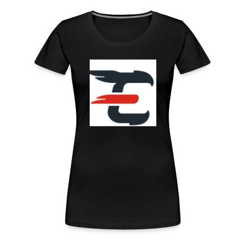 exxendynce logo - Women's Premium T-Shirt