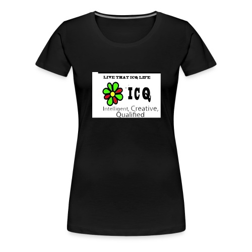 bunk new ICQ edited 33 - Women's Premium T-Shirt