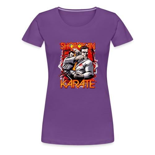 Shotokan Karate - Women's Premium T-Shirt