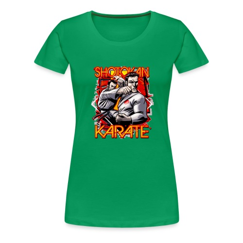 Shotokan Karate - Women's Premium T-Shirt