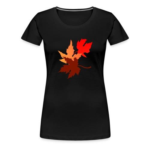 Three Leaves - Women's Premium T-Shirt